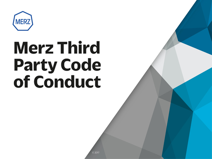 Merz code of conduct third party